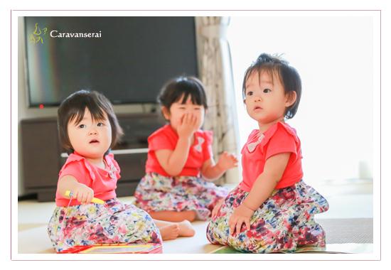 家族写真のロケーション・出張撮影 岐阜県大垣市・関市 1才の誕生日記念 カジュアル 自然な姿 おすすめ 人気 自宅でリラックス