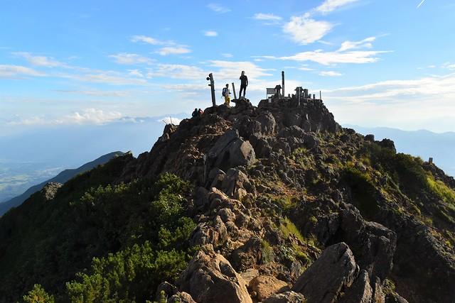 八ヶ岳・赤岳山頂