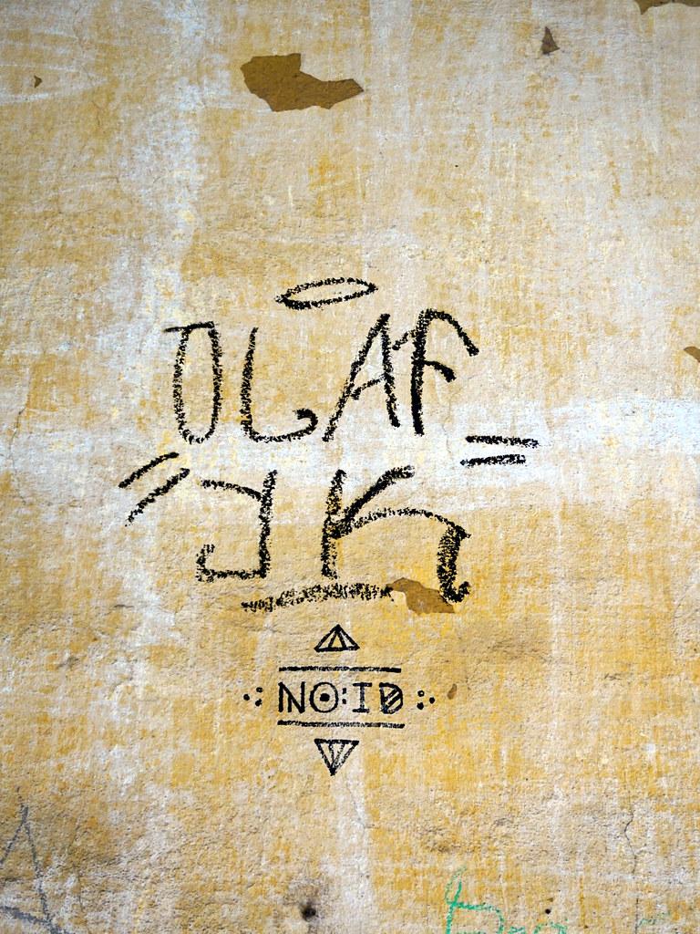 Graffiti in Ljubljana 2017 | Artist(s): OLAF YK | kami68k -all over ...