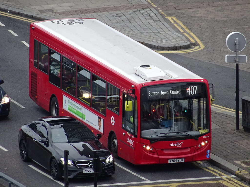 al 8830 @ park lane/george street, east croydon | abellio lo… | flickr
