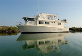 la Reina barco vida a bordo buceo Cuba