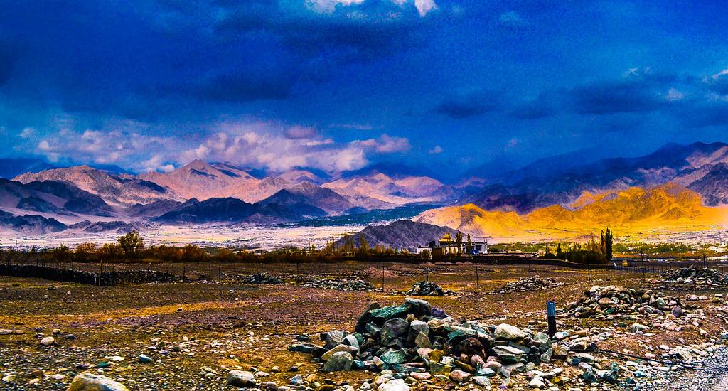 Cold Desert Leh India Anirban Saha Flickr
