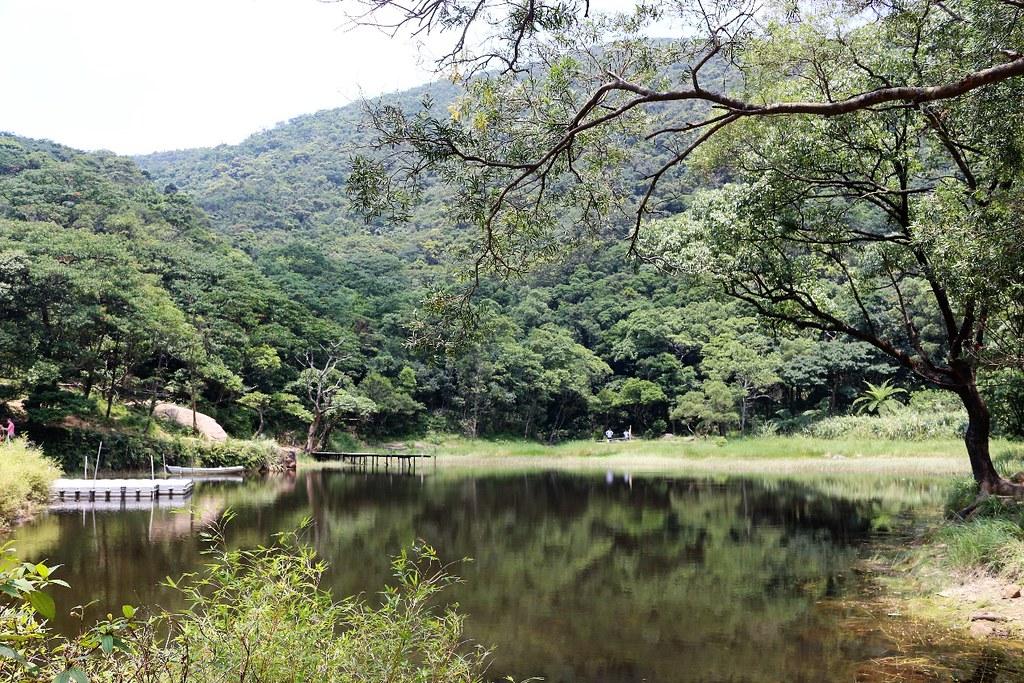 夢湖雖為私人湖泊,卻因為妥善管理保有原始生態。攝影/楊孟軒