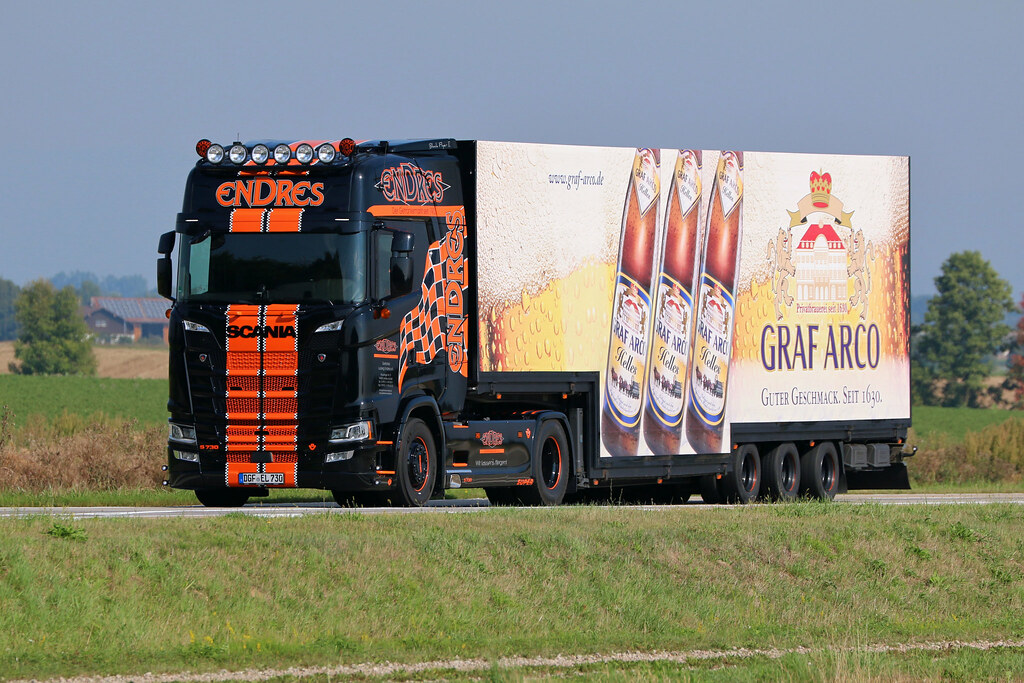 Scania S 730 / Ludwig Endres | Scania S 730 von Getränke Lud… | Flickr