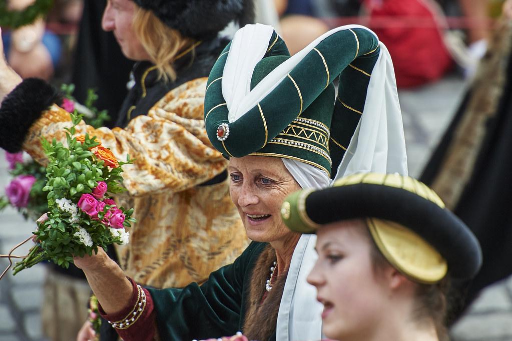 Landshuter Hochzeit 2017 Adelige Dame 3 Noble Lady From Flickr