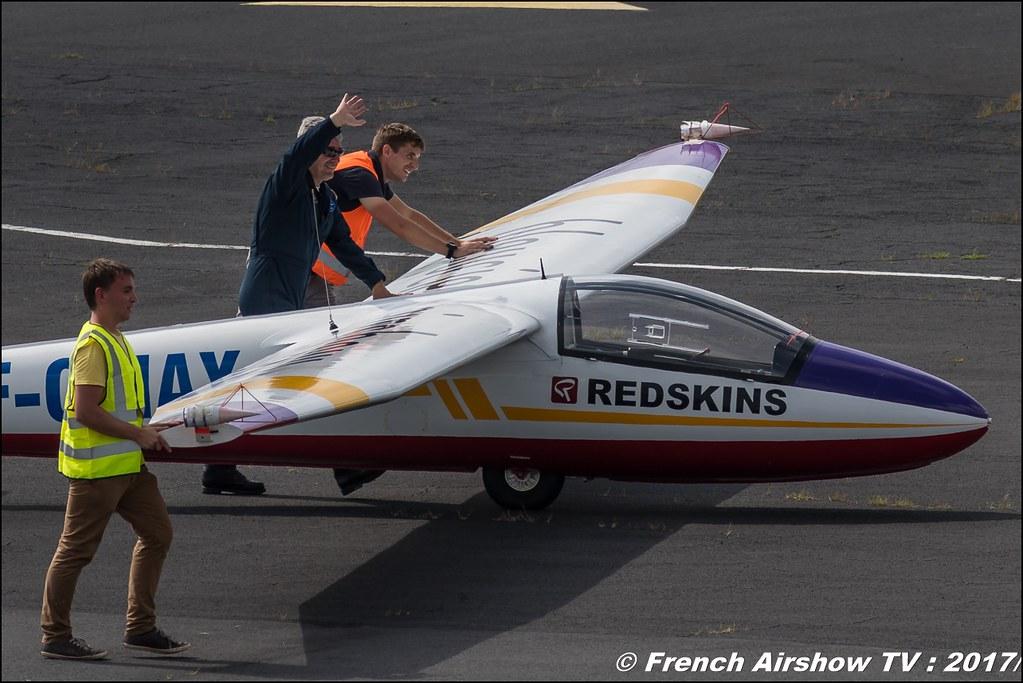 Pilatus B4 F-CMAX , Bleuciel Airshow, Denis Hartmann - Planeur Voltige, B4 Aerobatic Airshow , JPO Aurillac 2017 , Meeting Aerien Aeroclub du cantal 2017