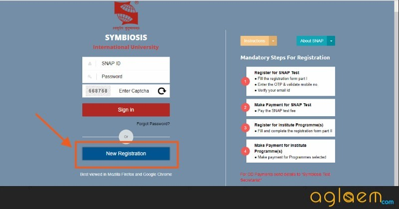 SNAP Application Form