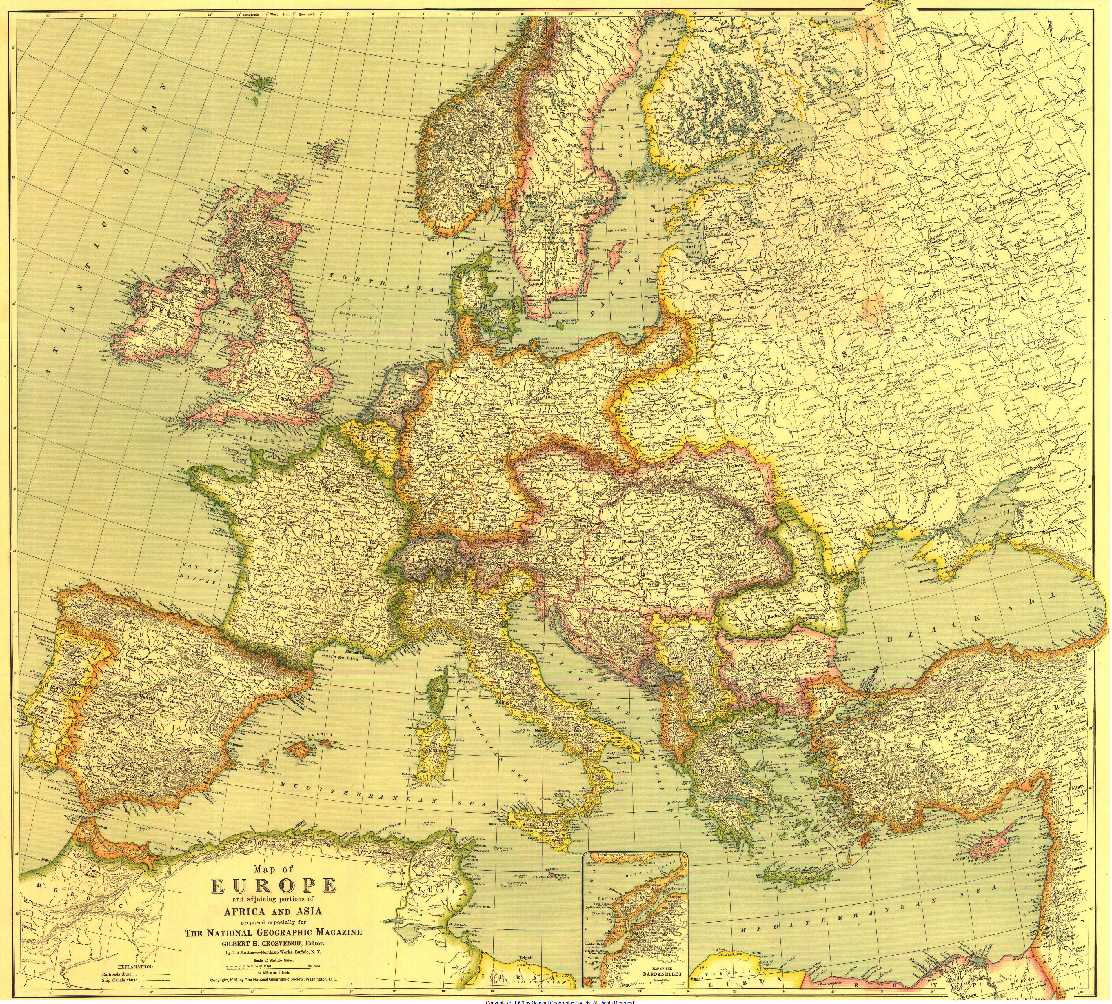 Europe Before and After the Great War  Vivid Maps
