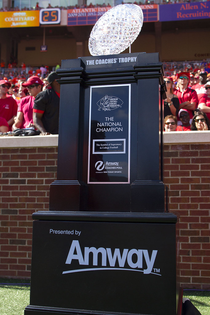 How Amway Coaches Poll Top 25 Teams Fared In Week 3: NCAA Football: North Carolina State At Clemson