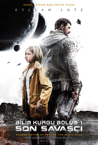 Bıilim Kurgu Bölüm 1: Son Savaşçı - Science Fiction Volume One: The Osiris Child (2017)