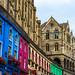 Victoria Street. Edimburgo