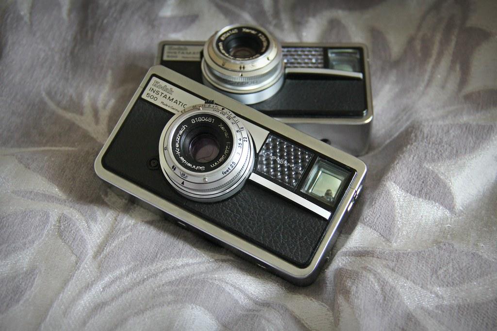 camera of the day kodak instamatic 500 i picked up anoth flickr