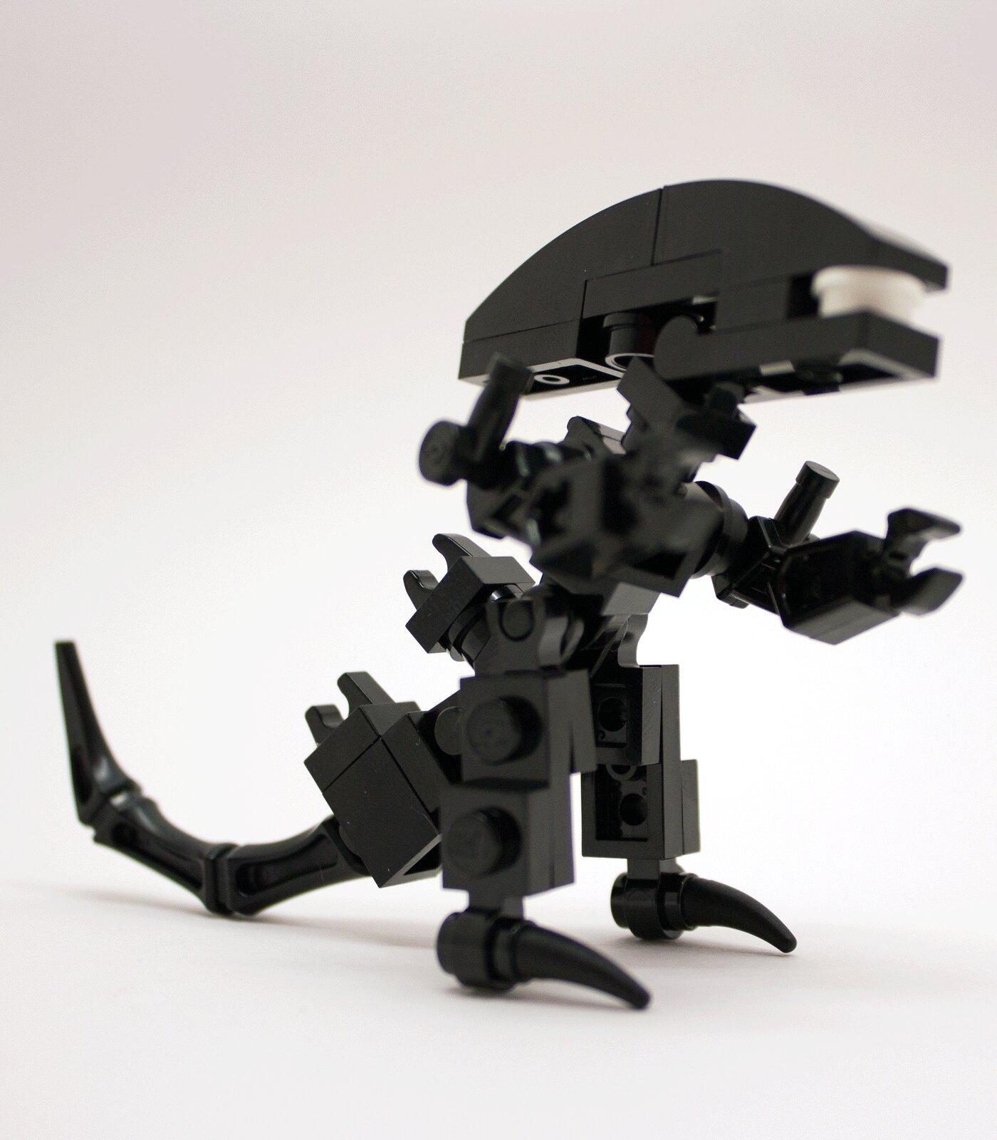 Custom Lego Alien Xenomorph Queen Minifigure Prometheus ...