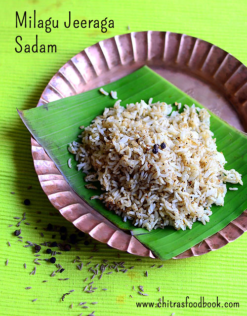 Pepper cumin rice