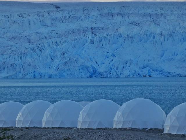 Campamento Fletanes en Qaleraliq (Groenlandia)
