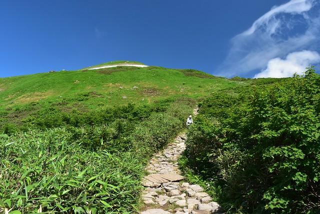 姥ヶ岳登山