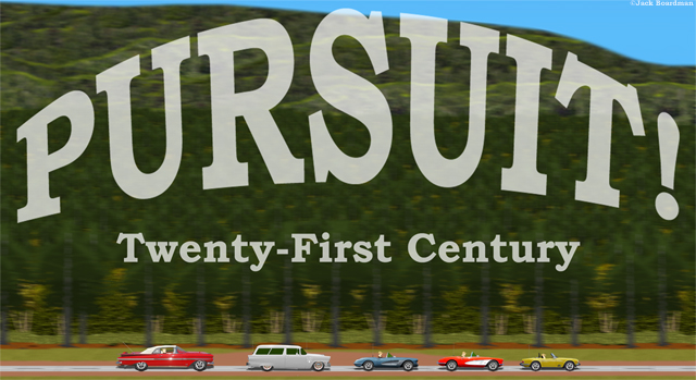 Pursuit Twenty-First Century Banner ©Jack Boardman
