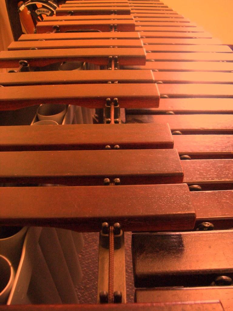 木琴。圖片來源:kaex0r (CC BY 2.0)。
