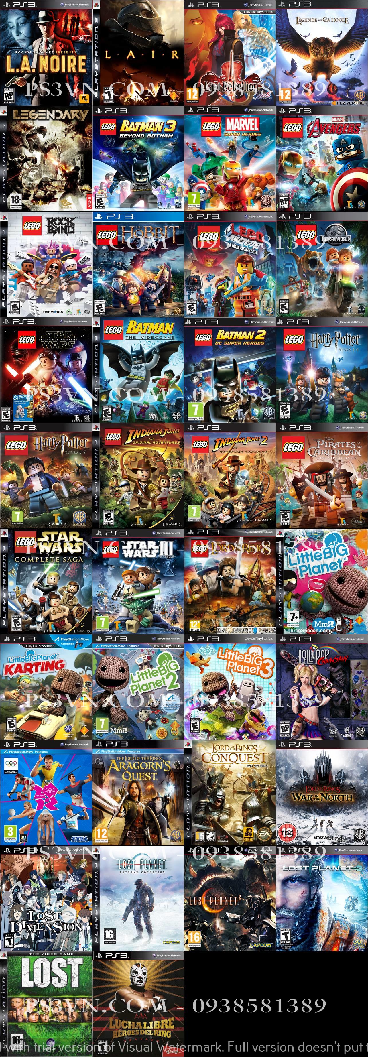Chép Game PS3 tại nhà giá rẻ nhất TPHCM - PS3VN.COM - 25
