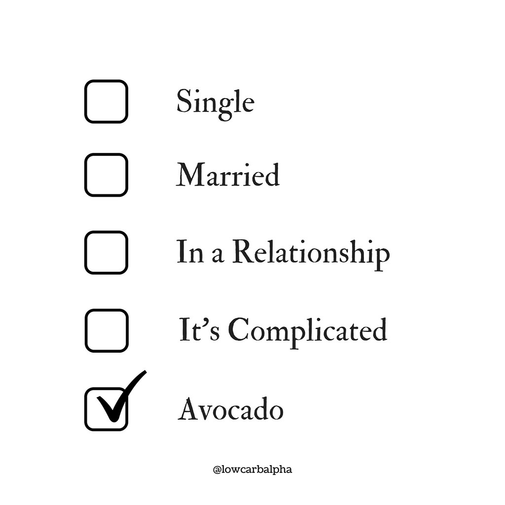 single married in a relationship it u0026 39 s complicated avocado
