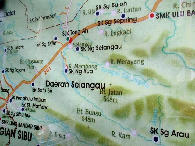 SK Sepiring to Selangau