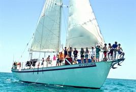 Buceo Bahamas barcos vida a bordo