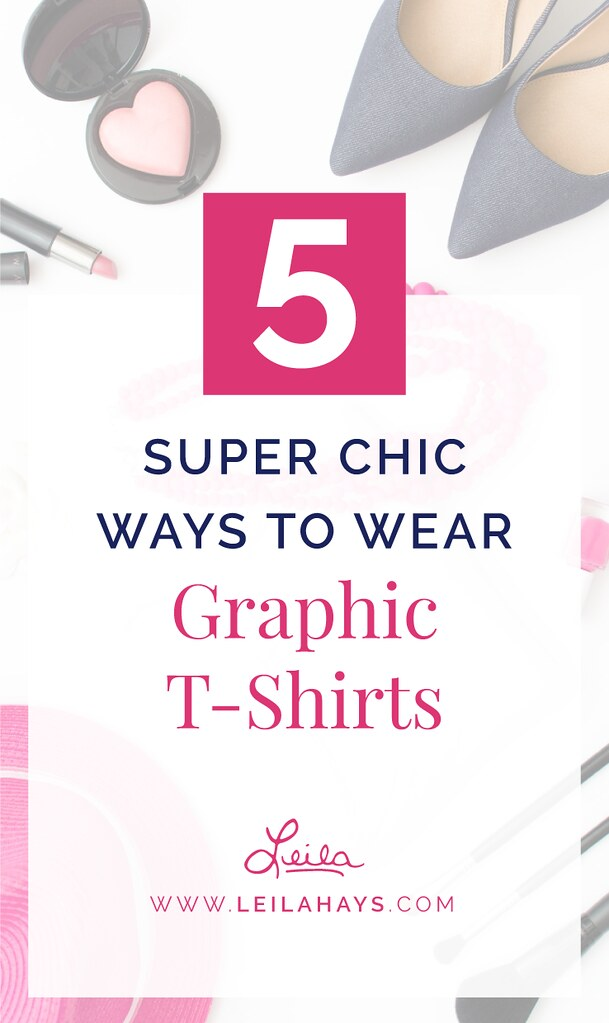How to Style Graphic Tshirts