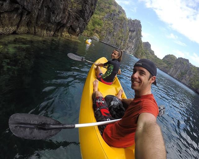 En kayak por las islas del sur de Filipinas