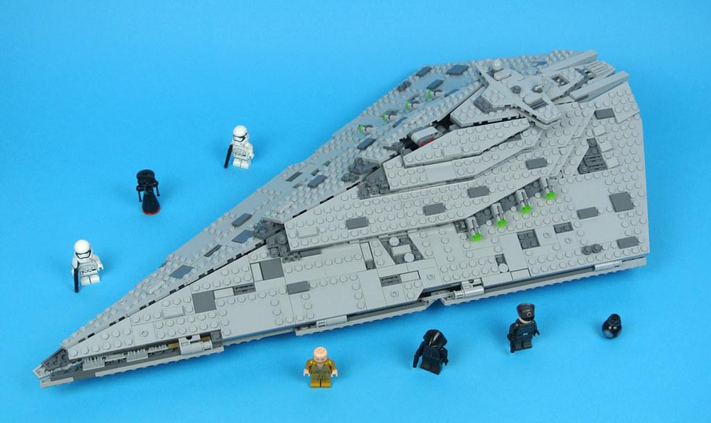 Review 75190 First Order Star Destroyer Brickset Lego Set Guide