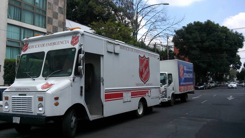 The Salvation Army's emergency response in Mexico
