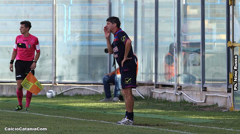 L'allenatore in seconda Richard Vanigli