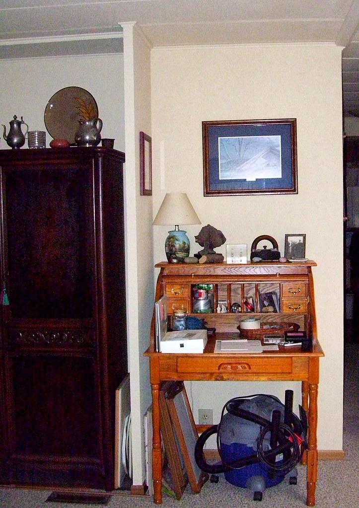corner nook from living room