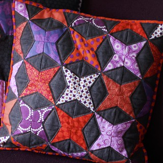 Kaleidoscope cushion | by Mary-and-Tobit