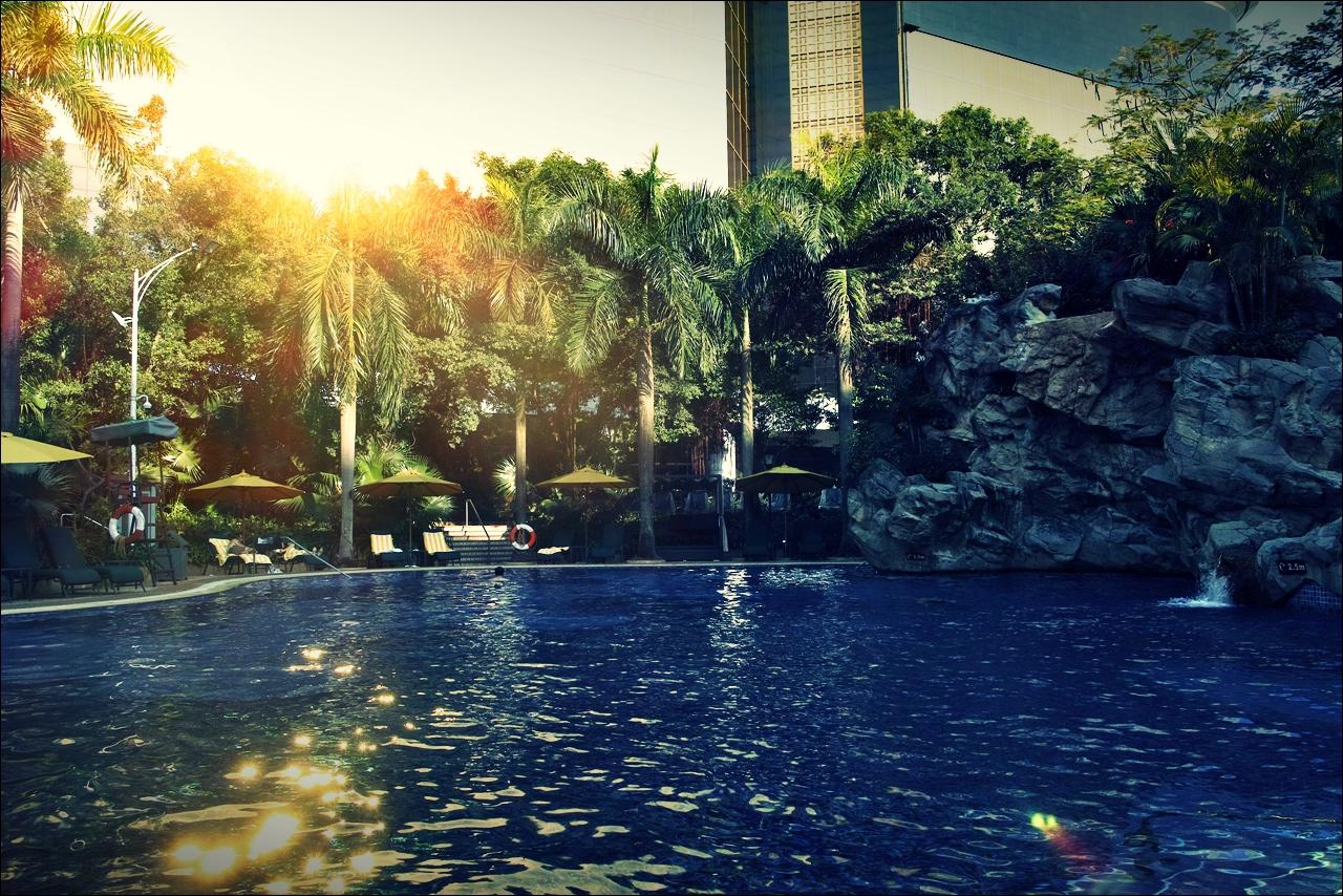 수영장-'그랜드 라파 호텔 마카오 (Grand Lapa Hotel, Macau)'