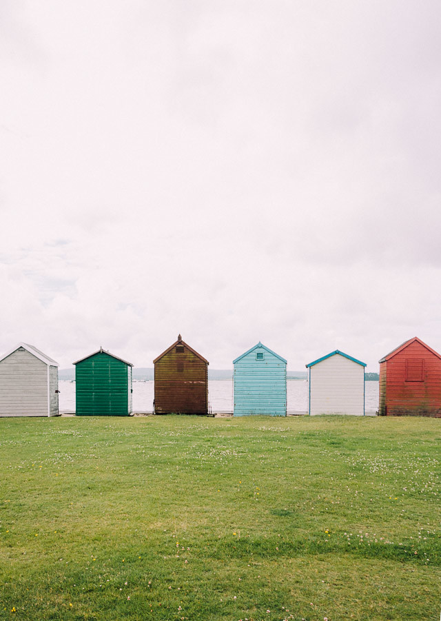 beach huts in hamworthy, poole, dorset