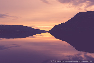 Ullswater Dawn Silhouette | by Splendid What