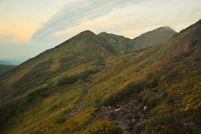 奥大日岳 テント泊登山