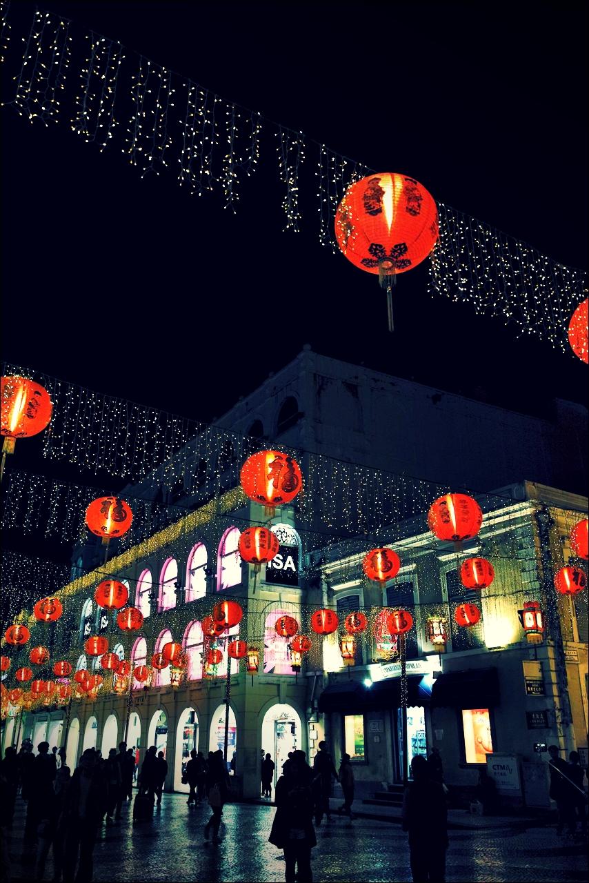 신년 등-'마카오 둘러보기(Macau Sightseeing)'