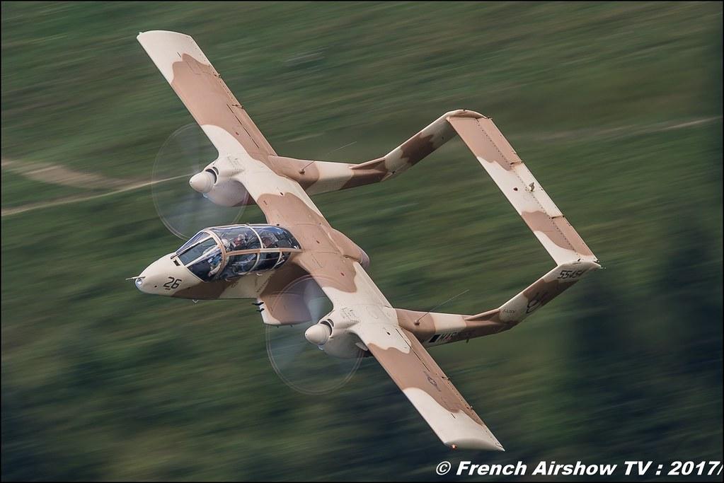 OV-10 Bronco montelimar F-AZKM , Musée Européen de l'Aviation de Chasse 50ans d'Aviation Megeve 2017