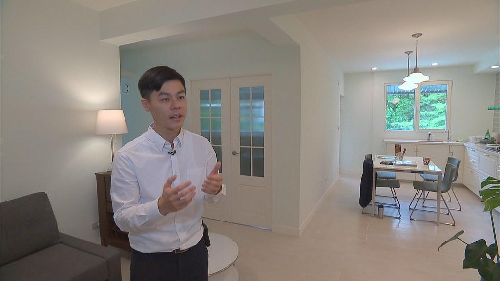 920-1-19 葉士傑將台北一間舊公寓改造,成為台灣第一間取得德國被動房認證的房子。
