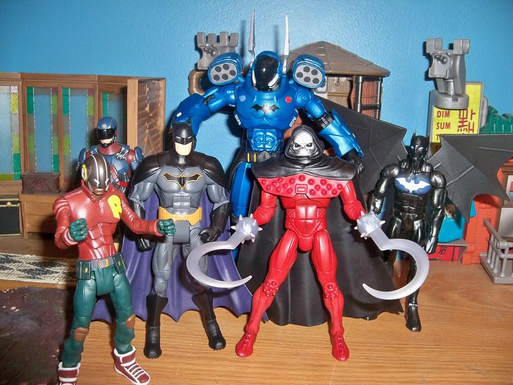 DC Multiverse BATWING Figure w// Rookie BAF Piece Ships 24 hrs