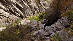 Vue plongeante à partir des douches de Vetta di Muru