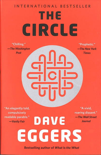 "Illustration of the book cover of ""The Circle""."