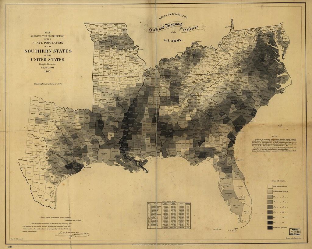 U.S. slave population (1860)