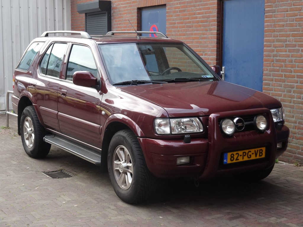 Opel Frontera - the car of the world