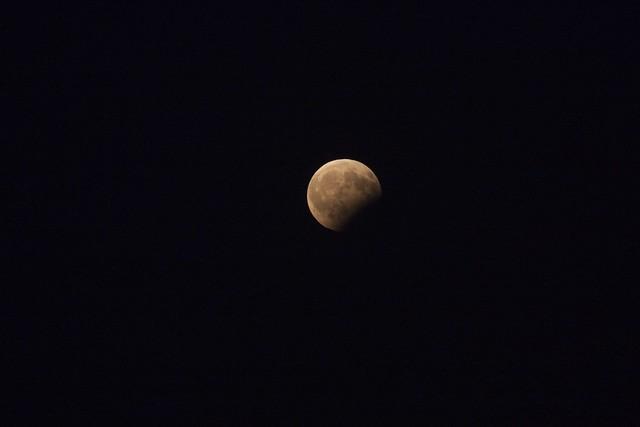 VCSE -- Mikics Károly felvétele a részleges holdfogyatkozásról - Mikics Károly