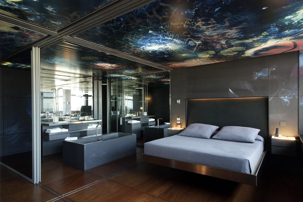 Hotel silken puerta am rica senior suite 12 planta dise for Hotel silken puerta america plantas