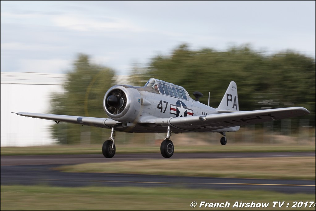 North American AT-6D - F-AZRB , Blois , Legend Air en Limousin 2017 , aérodrome de Saint Junien 2017 , Meeting Aerien 2017