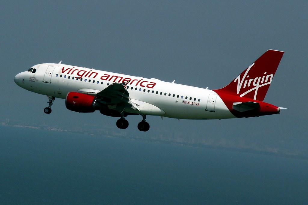 Image result for virgin america Airways: image