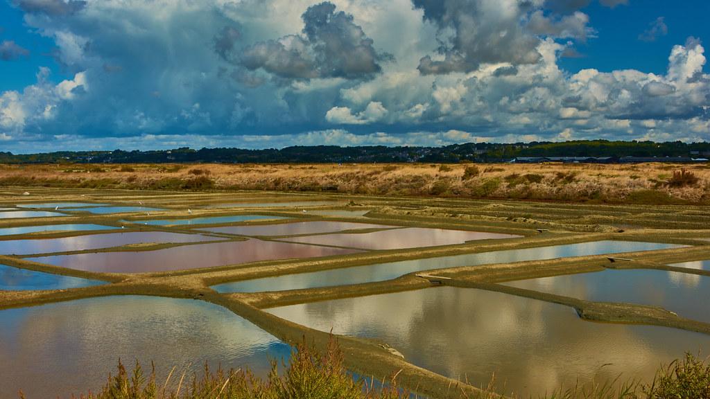 Salt Garden Of The Gurande The Salt Production Has Existe Flickr